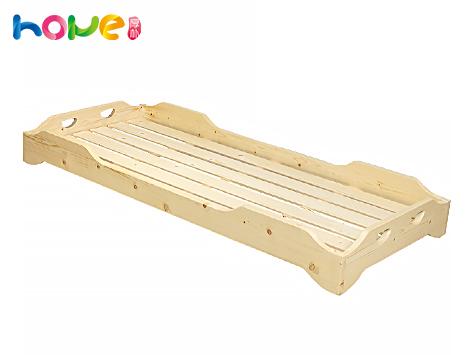 山东厚朴幼儿园儿童实木午睡重叠床