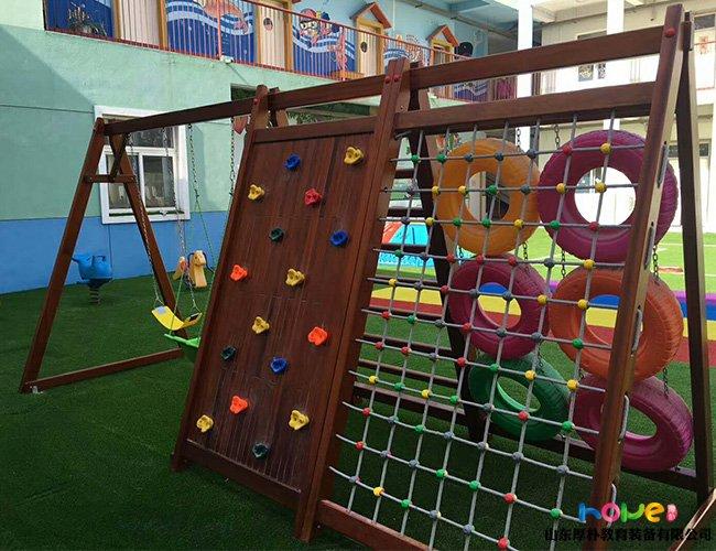 幼儿园儿童玩攀爬架需要注意的事项有哪些
